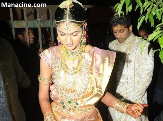 Allu Arjun Marriage Pics