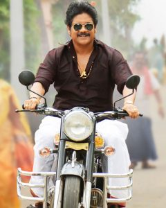 Nagarjuna-In-Soggade-Chinni-Nayana-Brown-Kurta-FaceImage